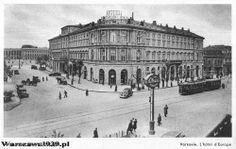 Hotel Europejski lata 30