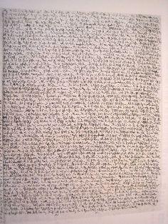 Robert Walser Microscript #1