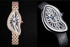 #SIHH2015 #latestwatches #latestwomensjewellery Unusual shape Watches : Bugatti, #Cartier Crash, Cadena Watch #newwatches2015 #ladieswatches #bestof #handson #wristy #fashiongram www.LUXURYVOLT.com #diamonds #jewellerywatch #gold #pinkgold #luxury #poshlife #omega #graff #harrywinston #tiffanys #rings #newyear2015 #dailywatch #wristporn #bornrich #diva #horology #ladiesfashion #poshgurl #poshlife #elegant #love