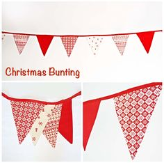 Christmas bunting to hire or made to order Christmas Bunting, Tapestry, Cards, Decor, Hanging Tapestry, Tapestries, Decoration, Maps, Decorating