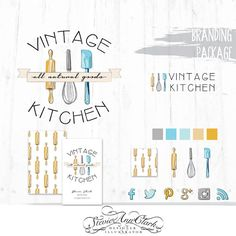 Hand Drawn Branding Package  Business Identity  by StevieAnnClark, $59.00 - She is a graphic designer specializing in branding and logos.  Very cool and has some great ideas and packages!