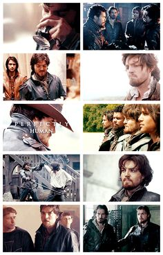 The Musketeers - Athos 'Perfectly human.'
