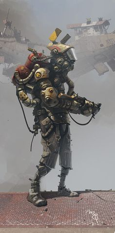 [Dumpster Grunt] by Ian McQue