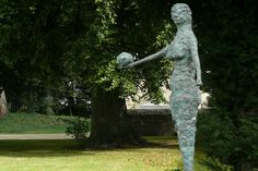 Edward Delaney, Eve With Apple, 1958, Bronze, Unique, Collection Irish Museum of Modern Art, Gift of Jack and Agnes Toohey, 2009, Restored with the support of The Heritage Council and Goethe Institute, © the artist