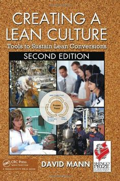 Creating a #Lean Culture by David Mann.  One of the very best books I have read on the subject of #LeanManufacturing.  Full of actionable ideas to implement and dealing with the often difficult concept of sustaining the gains. Top 10 Lean Books - Lean Process