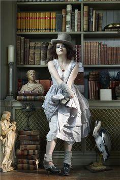 Helena Bonham Carter in Harpers Bazaar