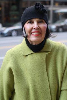 ADVANCED STYLE: A Serendipitous Meeting......82 years old!!!!!!!!!