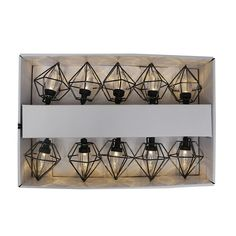 Shop Unbranded Black Geometric LED Outdoor Lantern String Lights at Lowe's Canada. Find our selection of string lights at the lowest price guaranteed with price match. Renovation Hardware, String Lights, Decoration, Home Improvement, Outdoor Lantern, Lowe's Canada, Led, Flooring, Porch