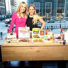 Ashley Pettit, from APL, sharing her Favorite Healthy Frozen Foods hint: Veggie Fries makes the list ;)