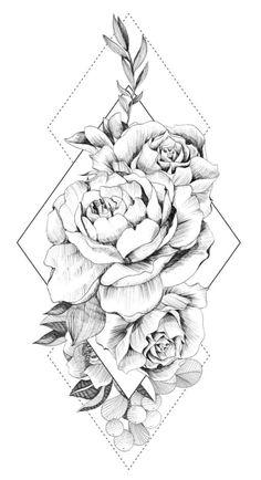 Tattoos - tattoo designs ideas männer männer ideen old school quotes sketches Rose Tattoos, Leg Tattoos, Black Tattoos, Body Art Tattoos, Tattoo Forearm, Tattoo Drawings, Female Arm Sleeve Tattoos, Tatoos, Sketch Tattoo