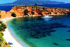 kokkinokastro beach,alonissos island-greece