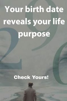 Your birth date reveals your life purpose. Purpose Quotes, Life Purpose, Birth Month Quotes, Birth Year, Reality Quotes, Life Quotes, Attitude Quotes, Psychology Fun Facts, Life Path Number