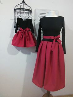 mother and daughter dresses, matching dresses