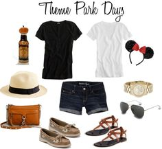 """Spring Break Theme Park Days Outfits"" by leopard-spot on Polyvore"