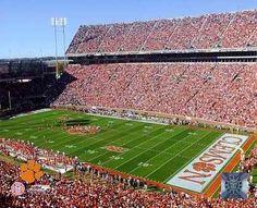 "Clemson Memorial Stadium - Clemson, SC  ""Death Valley""  Clemson University"