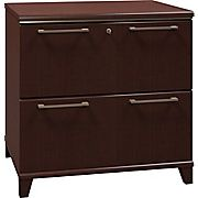 Buy Bush Business Enterprise 30W 2-Drawer Lateral File, Mocha Cherry at Staples' low price, or read customer reviews to learn more.