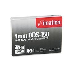 Imation 40963 Tape 4mm Dds-4 150m 20/40gb by Imation. $9.43. Unsurpassed in quality & reliability imation 4mm dds data cartridges give you data grade cartridges with protective backcoating. Our cartridges are compatible with dds 1-4 drives and offer up to 20gb native capacity. Backup restore archive copy distribute or manage your data with ease with imation 4mm dds data cartridges. to protect your drive and ensure that it operates at maximum efficiency use imatio...