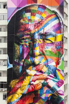 Piece of ART by Eduardo KOBRA