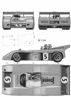 McLaren M20 blueprint