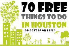 You will never be bored in the bayou city with this awesome list of free things to do in Houston!