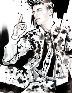 Illustration.Files: Givenchy S/S 2015 Fashion Illustration by ANMOM