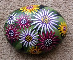 Painting on rocks by Judy ng at Coroflot.com