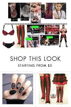 """""""Brenna VS Sami On Raw"""" by makhinegankaller14 ❤ liked on Polyvore featuring Monday, WWE and wweoc"""
