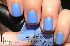 Sinful Colors Sail La Vie swatch