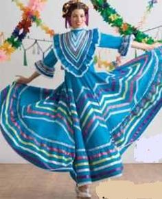Traditional clothing from Jalisco, Mexico