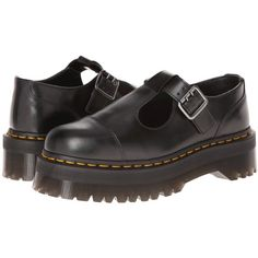 Dr. Martens Bethan T-Bar ($150) ❤ liked on Polyvore featuring shoes, footwear, black, flats, black polished smooth, loafers, loafers flats, dr martens shoes, black leather flats e black leather loafers