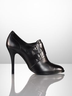 Ralph Lauren Collection Nadine Monk Strap Bootie $695