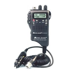Handheld Mobile CB w/ Adapter40 Channel CB Radio with Mobile Adapter - Lightweight handheld CB radio that can be easily converted to a mobile CB - For portable: insert batteries into battery pack and