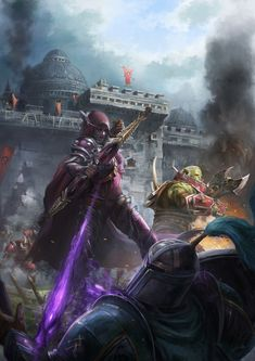Daily World of Warcraft Art Board ^^ // Blizzard // wow // Alliance // Horde // Hearthstone // Geek // Battle for Lordaeron // World Of Warcraft Game, Warcraft Art, Dota 2, Imperius Diablo, World Of Warcraft Wallpaper, Banshee Queen, Hearthstone Heroes, Jaina Proudmoore, Sylvanas Windrunner