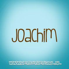 Joachim (Voor meer inspiratie, en unieke geboortekaartjes kijk op www.heyboyheygirl.nl)