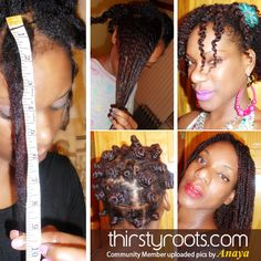 Thirsty Roots Community Member: Anaya | thirstyroots.com: Black Hairstyles and Hair Care