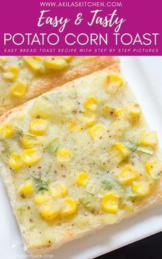 A simple and tasty breakfast recipe which can be prepared minutes time. Also makes a great evening snack for kids. Sweet Corn Recipes, Hot Dog Recipes, Coffee Recipes, Drink Recipes, Fall Recipes, Snack Recipes, Evening Snacks For Kids, Hot Cocoa Recipe, Delicious Breakfast Recipes