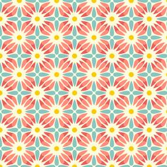 Crazy Daisy  fabric by heatherdutton on Spoonflower - custom fabric