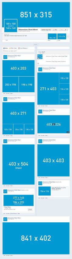 This is always helpful.... Social Media Image Dimensions Cheat Sheet