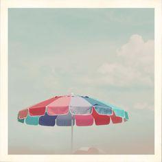 summer...beach umbrellas