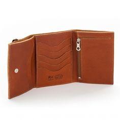 Wallet DONATELLO color: Cognac - Il Bisonte US