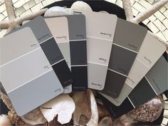 grey paint colours amp interiors march colour of the month Plascon Paint Colours, Grey Paint Colors, Paint Colors For Home, Exterior Gray Paint, Exterior Colors, House Color Schemes, House Colors, March Colors, New York Projects