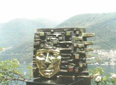 Bronze Busts and Heads sculpture by artist Toma Nenov titled: 'Pensieri' £4,667