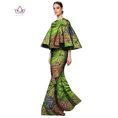 African Fashion Print Two Piece Sets Dashiki Three Quarter Sleeve Crop – Owame African Inspired Clothing, African Print Fashion, Africa Fashion, African Fashion Dresses, African Attire, African Wear, African Dress, Fashion Prints, Fashion Design