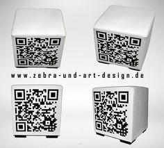 QRCUBE  intelligentes Branding für LoungeMöbel by ZebraArtDesign