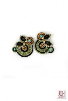 Adesso casual clips by Dori #doricsengeri #earrings #casual #clips #earrings #smallearrings #jewelry