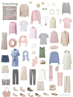 Build a Capsule Wardrobe in 12 Months, 12 Outfits - November 2017 - The Vivienne Files - capsule wardrobe in beige with pink, blue and ivory accents Source by girlwithpineapple - Capsule Wardrobe How To Build A, Wardrobe Basics, My Wardrobe, Capsule Wardrobe Summer, Professional Wardrobe, Capsule Outfits, Fashion Capsule, August Outfits, Moda Fashion