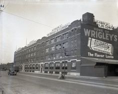 The Wrigley Factory, 3535 S Ashland, 1933, Chicago.  Built in 1911, the plant finally closed in 2005.