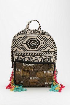 Ecote Friendship Backpack. Cuuuuuutest backpack ever. Boho (: