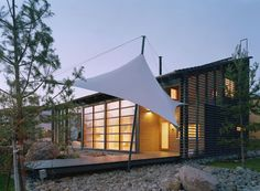 Sail Canopy, Deck, Window Wall...