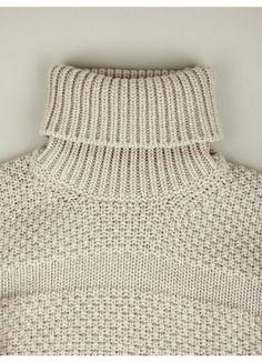 Jil Sander Chunky Roll Neck Knit